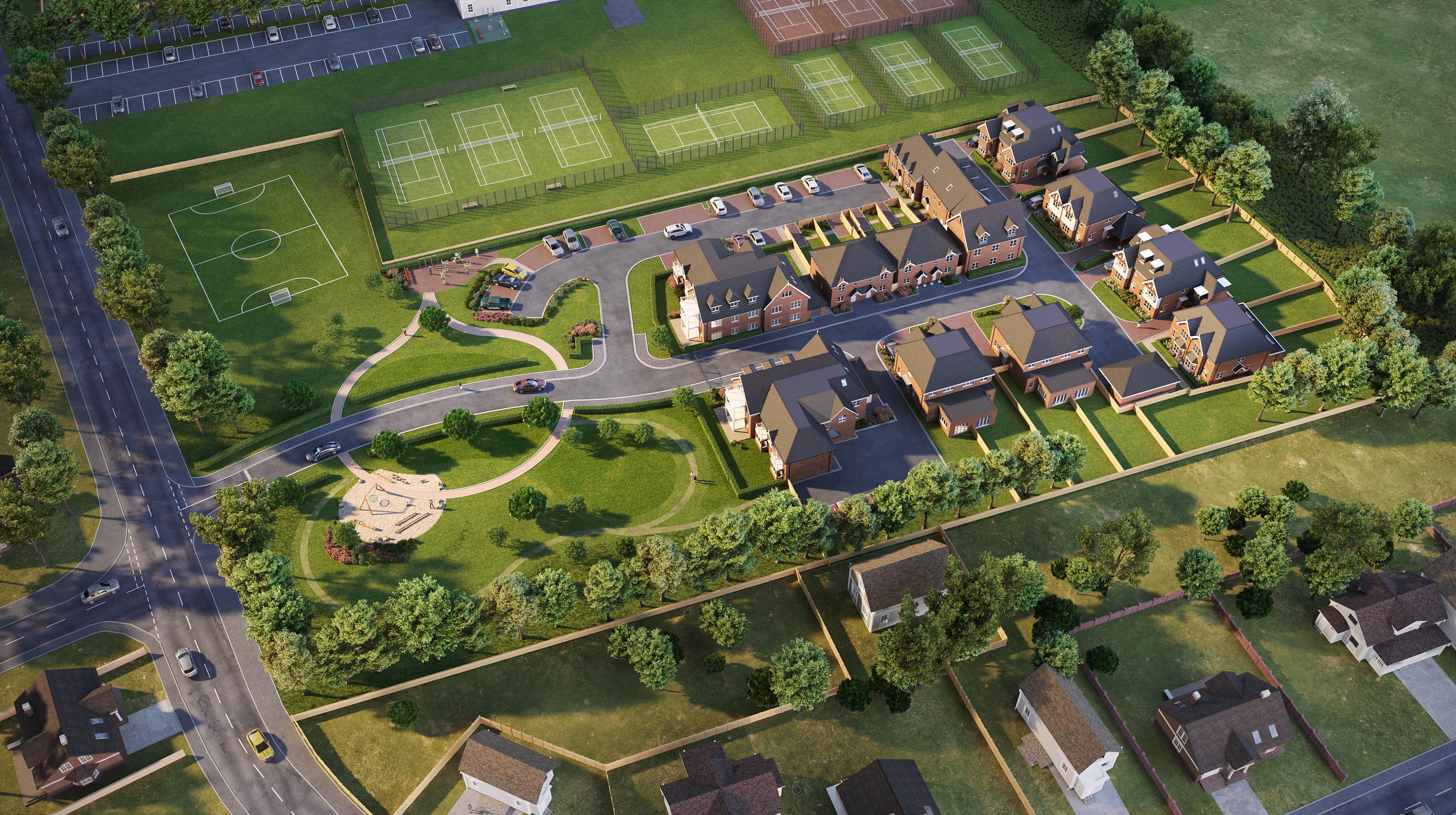Hurst_Lane_aerial